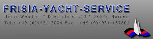 frisia yacht service